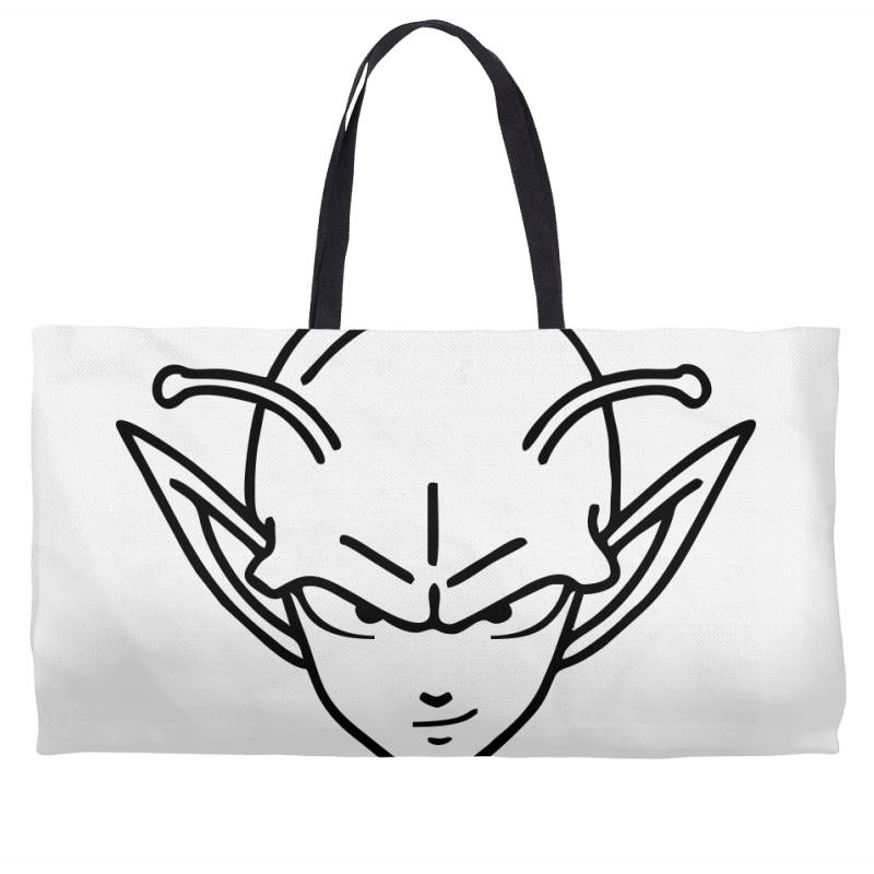 Dragon Ball Z (dbz) Piccolo (low Poly Abstract) Fanart Weekender Totes   Artistshot