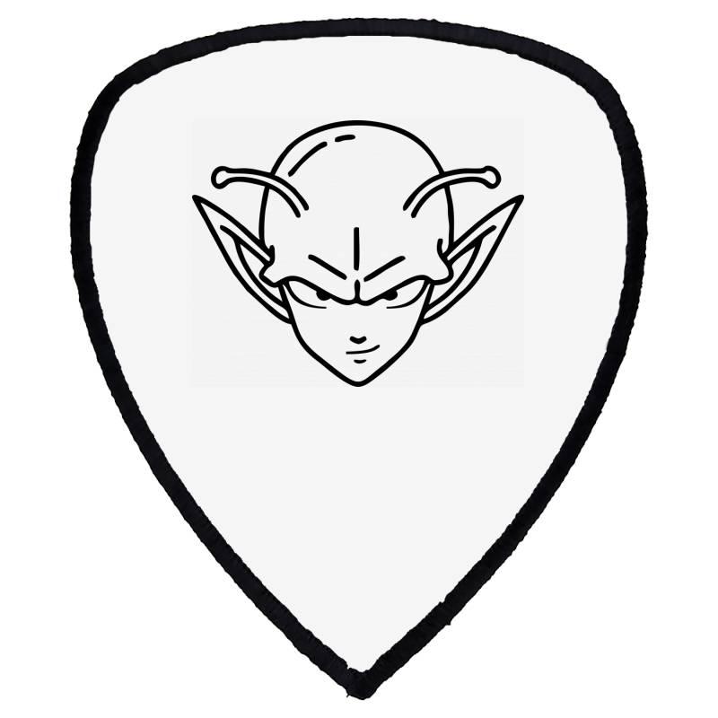 Dragon Ball Z (dbz) Piccolo (low Poly Abstract) Fanart Shield S Patch   Artistshot