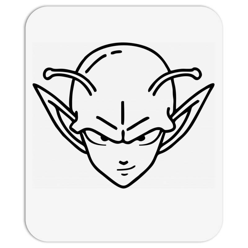 Dragon Ball Z (dbz) Piccolo (low Poly Abstract) Fanart Mousepad   Artistshot