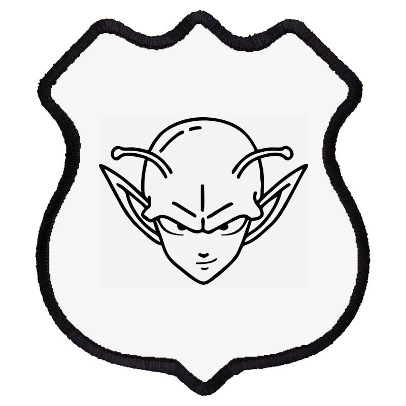 Dragon Ball Z (dbz) Piccolo (low Poly Abstract) Fanart Shield Patch | Artistshot