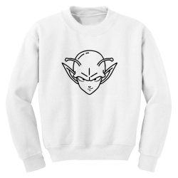 Dragon ball Z (DBZ) Piccolo (Low Poly Abstract) FanArt Youth Sweatshirt | Artistshot