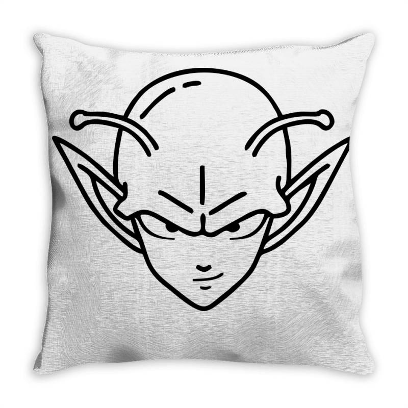 Dragon Ball Z (dbz) Piccolo (low Poly Abstract) Fanart Throw Pillow | Artistshot