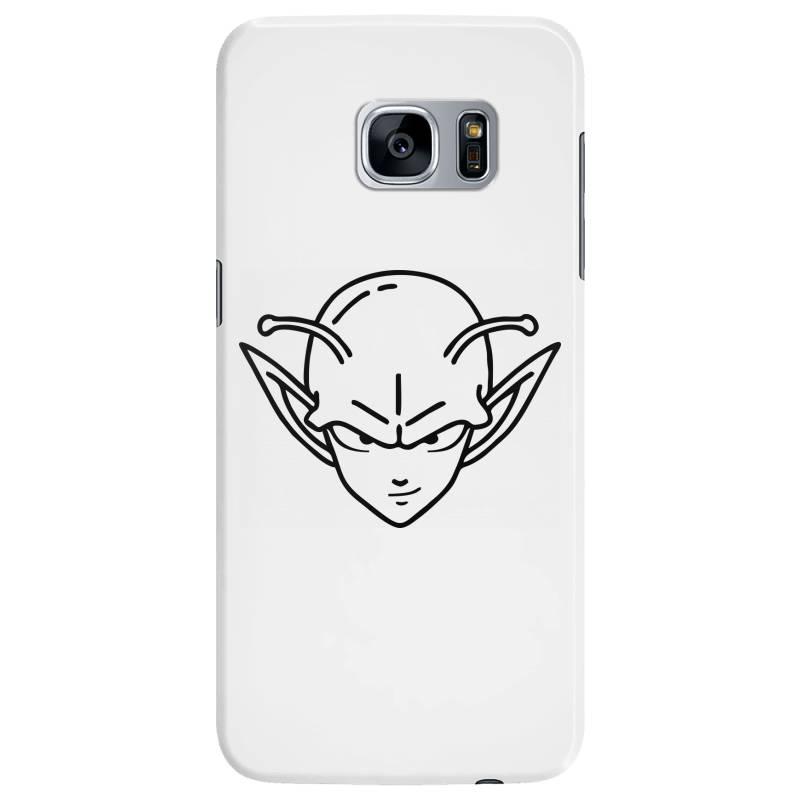 Dragon Ball Z (dbz) Piccolo (low Poly Abstract) Fanart Samsung Galaxy S7 Edge Case   Artistshot