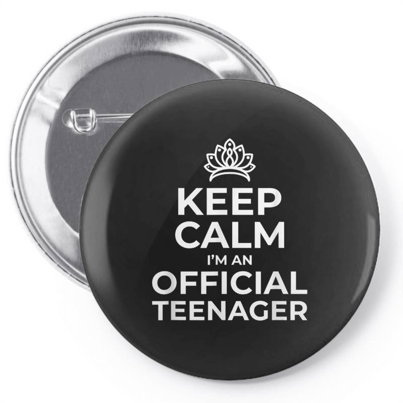 Keep Calm Birthday Official Teenager Pin-back Button   Artistshot