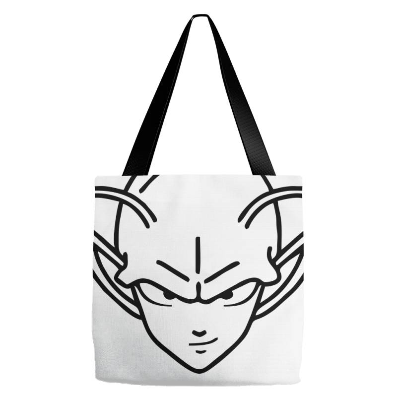 Dragon Ball Z (dbz) Piccolo (low Poly Abstract) Fanart Tote Bags | Artistshot