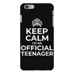 keep calm birthday official teenager iPhone 6 Plus/6s Plus Case | Artistshot