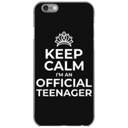 keep calm birthday official teenager iPhone 6/6s Case | Artistshot