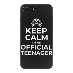 keep calm birthday official teenager iPhone 7 Plus Case | Artistshot
