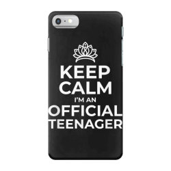 keep calm birthday official teenager iPhone 7 Case | Artistshot