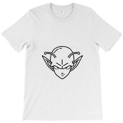 Dragon Ball Z (dbz) Piccolo (low Poly Abstract) Fanart T-shirt Designed By Dc47