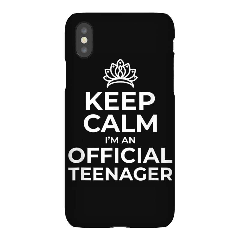 Keep Calm Birthday Official Teenager Iphonex Case | Artistshot
