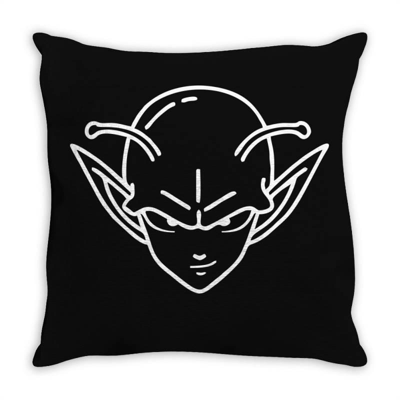 Dragon Ball Z (dbz) Piccolo (low Poly Abstract) Fanart Throw Pillow   Artistshot