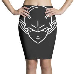 Dragon ball Z (DBZ) Piccolo (Low Poly Abstract) FanArt Pencil Skirts   Artistshot