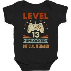 official teenager 13th birthday Baby Bodysuit | Artistshot