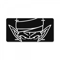 Dragon ball Z (DBZ) Piccolo (Low Poly Abstract) FanArt License Plate | Artistshot