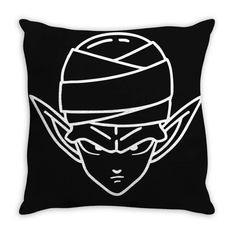 Dragon Ball Z (dbz) Piccolo (low Poly Abstract) Fanart Throw Pillow | Artistshot