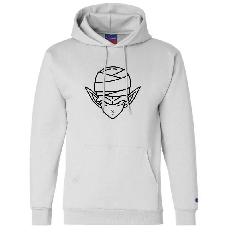 Dragon Ball Z (dbz) Piccolo (low Poly Abstract) Fanart Champion Hoodie | Artistshot
