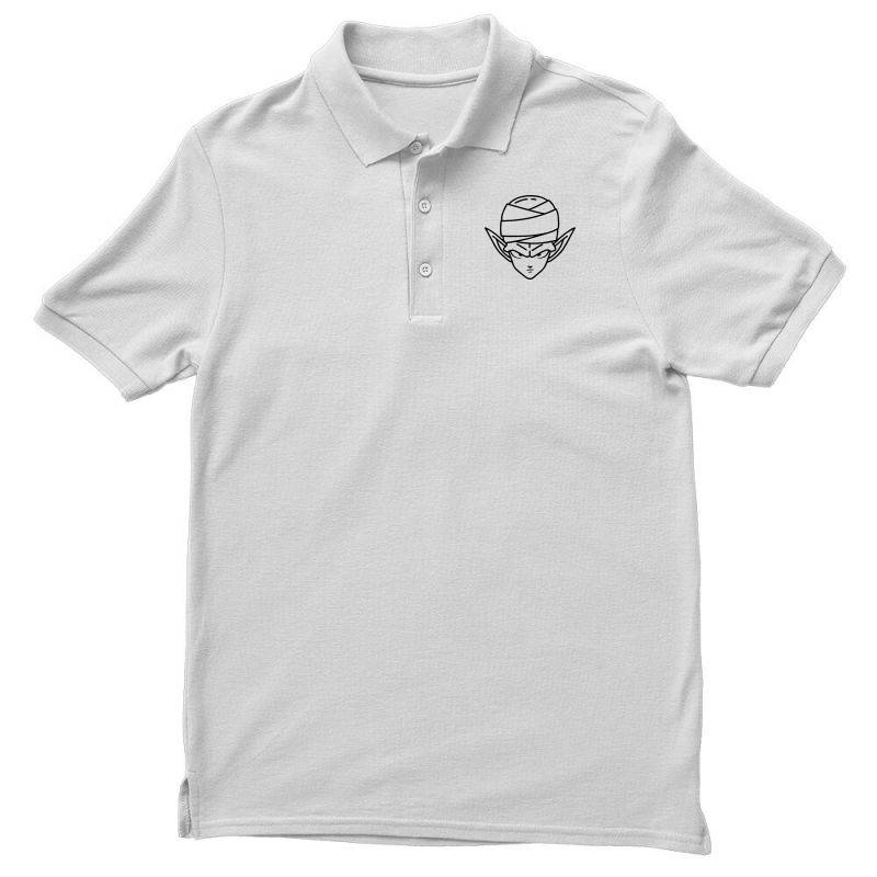 Dragon Ball Z (dbz) Piccolo (low Poly Abstract) Fanart Men's Polo Shirt | Artistshot