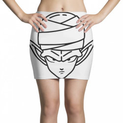 Dragon ball Z (DBZ) Piccolo (Low Poly Abstract) FanArt Mini Skirts | Artistshot