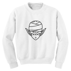 Dragon ball Z (DBZ) Piccolo (Low Poly Abstract) FanArt Youth Sweatshirt | Artistshot