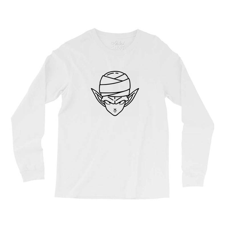Dragon Ball Z (dbz) Piccolo (low Poly Abstract) Fanart Long Sleeve Shirts | Artistshot