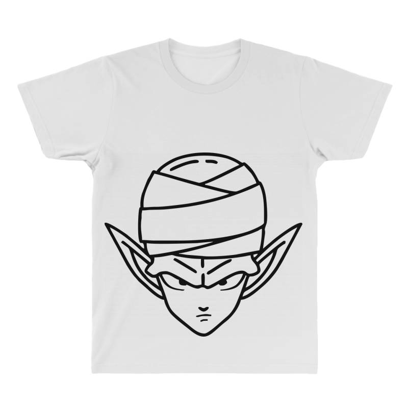 Dragon Ball Z (dbz) Piccolo (low Poly Abstract) Fanart All Over Men's T-shirt | Artistshot