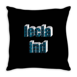 Ind lecia Throw Pillow | Artistshot