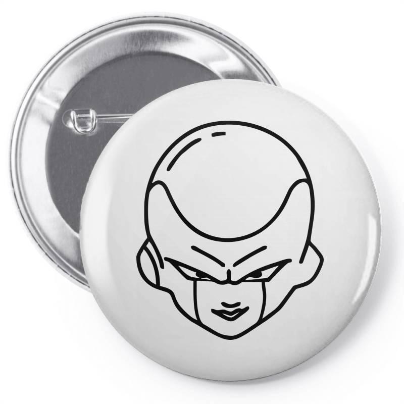 Dragon Ball Z (dbz) Freeza (low Poly Abstract) Fanart Pin-back Button | Artistshot