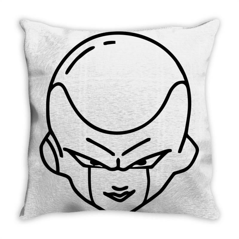Dragon Ball Z (dbz) Freeza (low Poly Abstract) Fanart Throw Pillow   Artistshot