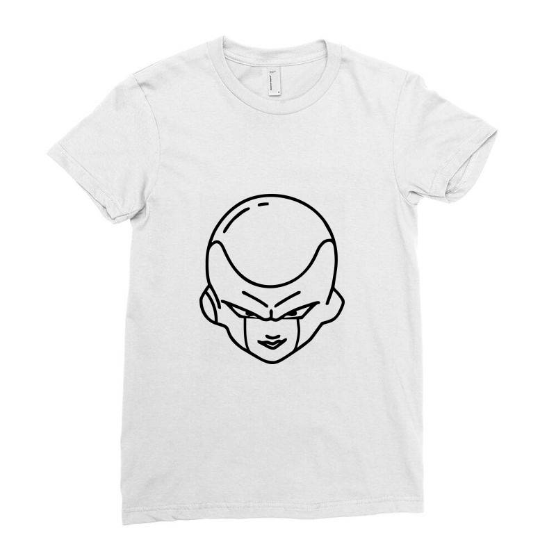 Dragon Ball Z (dbz) Freeza (low Poly Abstract) Fanart Ladies Fitted T-shirt   Artistshot