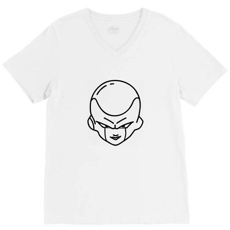 Dragon Ball Z (dbz) Freeza (low Poly Abstract) Fanart V-neck Tee | Artistshot
