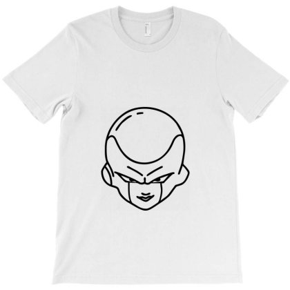 Dragon Ball Z (dbz) Freeza (low Poly Abstract) Fanart T-shirt Designed By Dc47