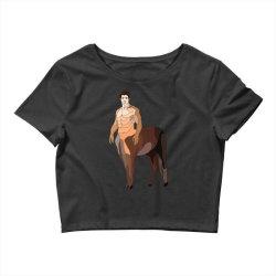 human horse Crop Top | Artistshot