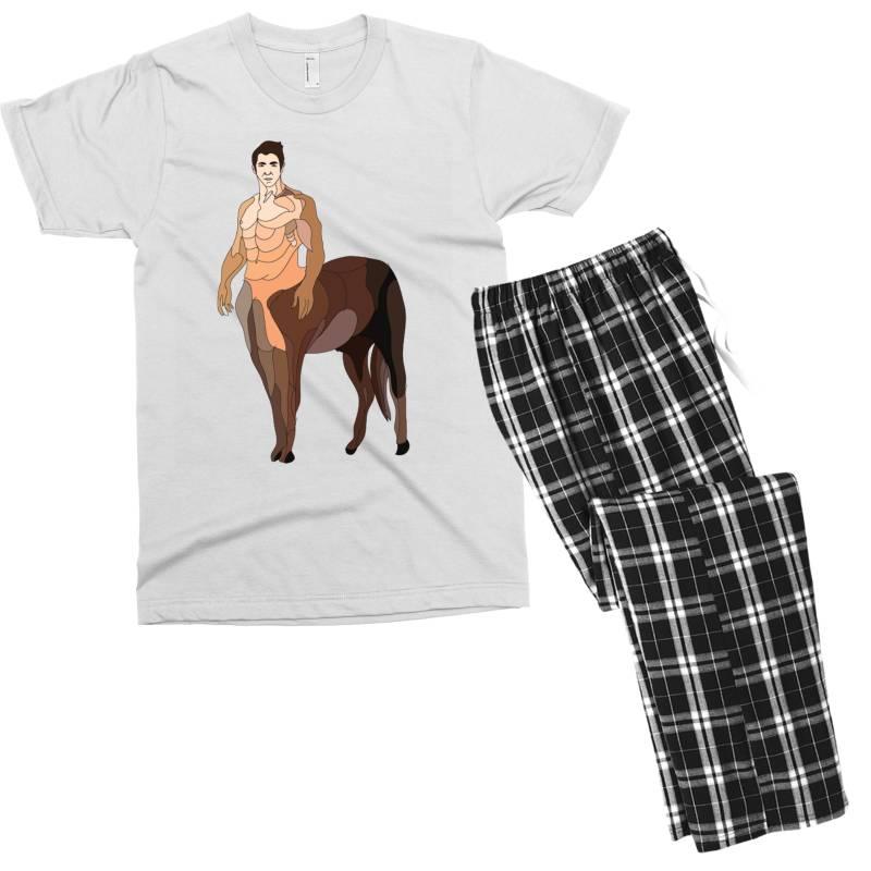 Human Horse Men's T-shirt Pajama Set | Artistshot