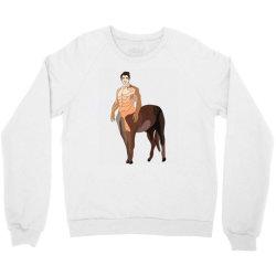 human horse Crewneck Sweatshirt | Artistshot
