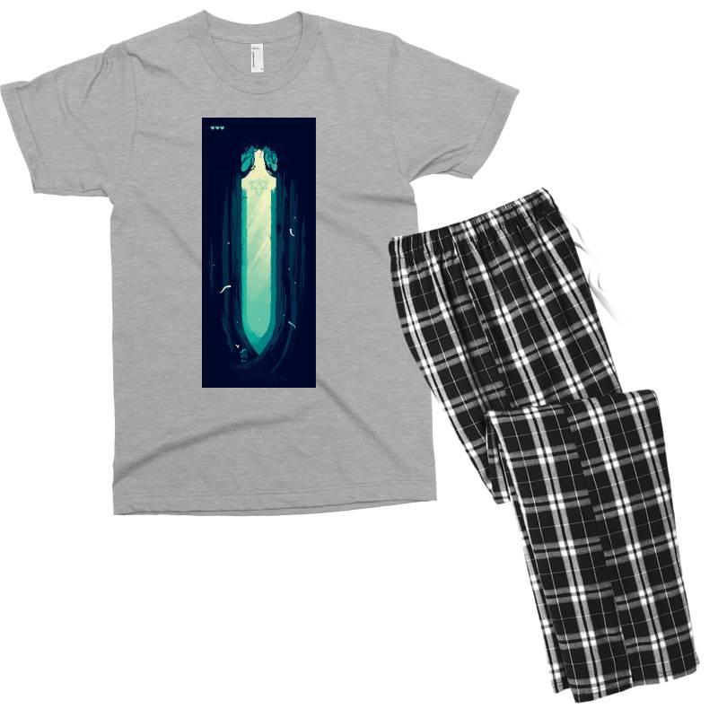 Adventure Gaming (low Poly) Men's T-shirt Pajama Set | Artistshot