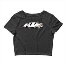 KTM License plate Crop Top   Artistshot