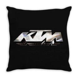KTM License plate Throw Pillow | Artistshot