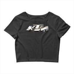 KTM Racing License plate Crop Top | Artistshot