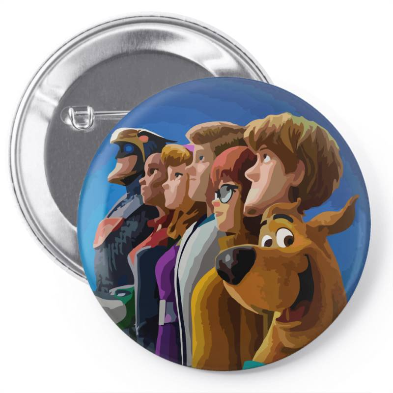 Scoob! (2020) Fanart (low Poly) Zoomout Effect Pin-back Button | Artistshot