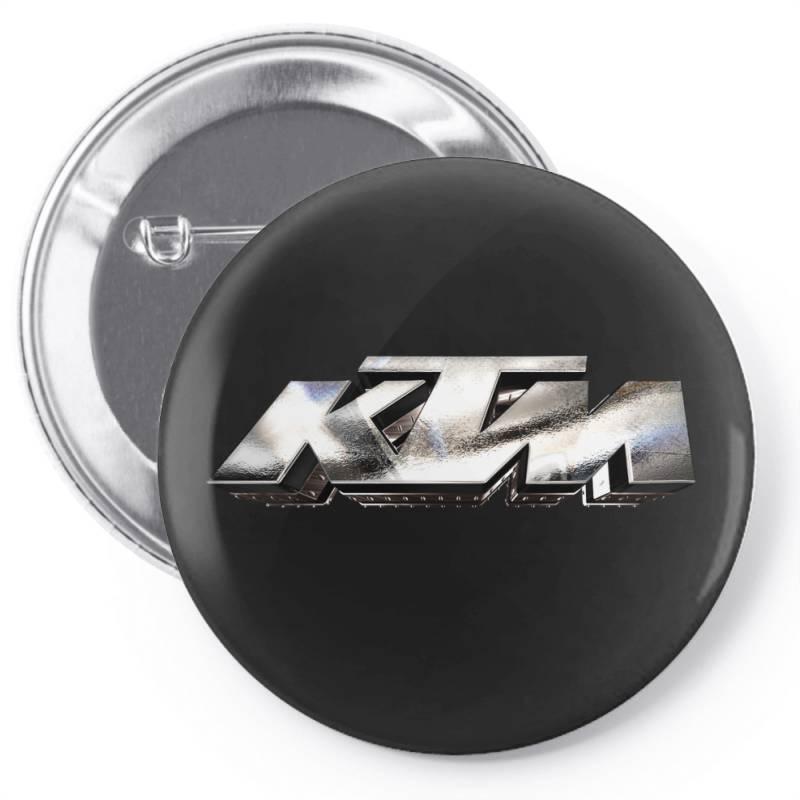 Ktm Racing License Plate Pin-back Button | Artistshot