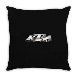 KTM Racing License plate Throw Pillow | Artistshot