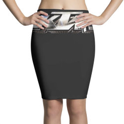 KTM Racing License plate Pencil Skirts | Artistshot