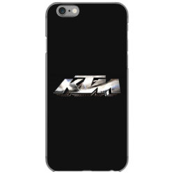 KTM Racing License plate iPhone 6/6s Case | Artistshot