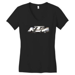KTM Racing License plate Women's V-Neck T-Shirt | Artistshot