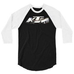 KTM Racing License plate 3/4 Sleeve Shirt | Artistshot