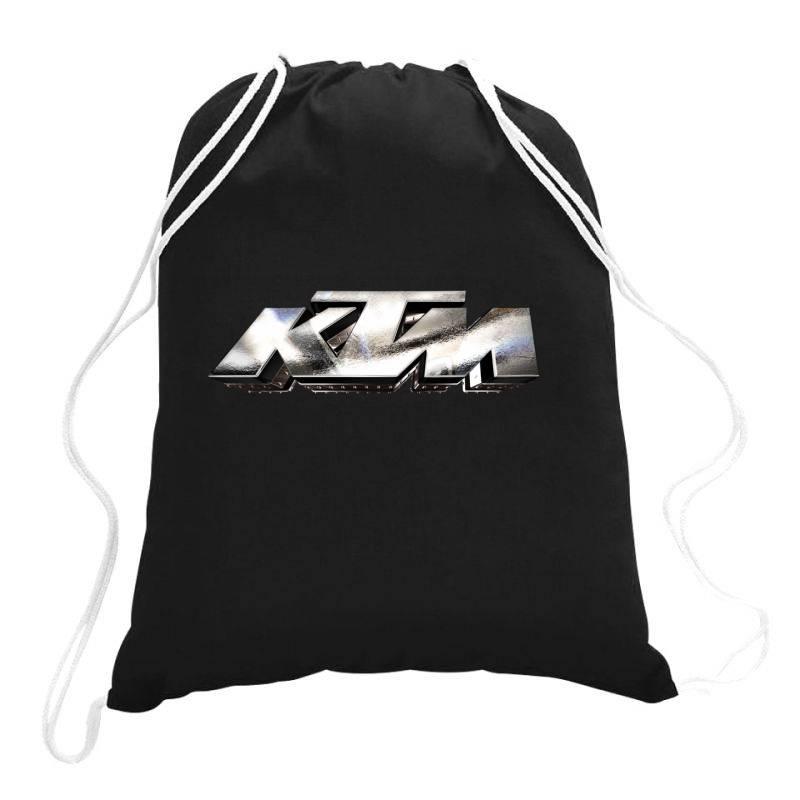 Ktm Racing License Plate Drawstring Bags | Artistshot