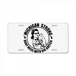 big gretch License Plate | Artistshot