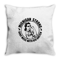 big gretch Throw Pillow | Artistshot