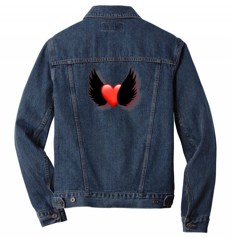 Picsart 05 23 08.50.54 Men Denim Jacket | Artistshot